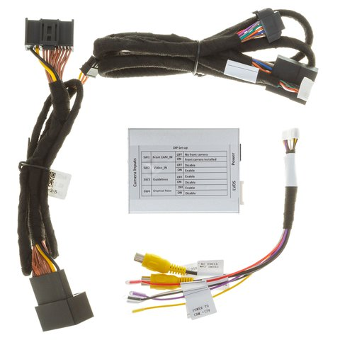 Front and Rear View Camera Connection Adapter for Audi A3 and Volkswagen Golf 7 Preview 4