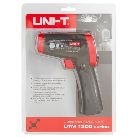 Інфрачервоний пірометр UNI-T UT303C Прев'ю 7