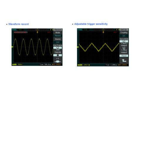Цифровий осцилограф змішаних сигналів RIGOL DS1052D Прев'ю 6
