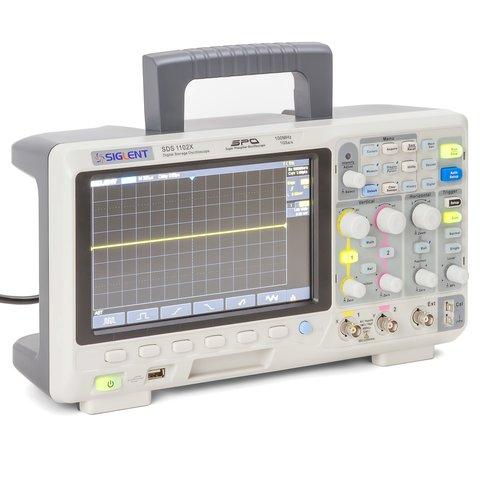 Фосфорний цифровий осцилограф SIGLENT SDS1102X Прев'ю 8