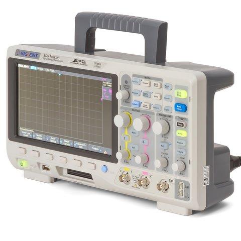 Фосфорний цифровий осцилограф SIGLENT SDS1102X+ Прев'ю 1