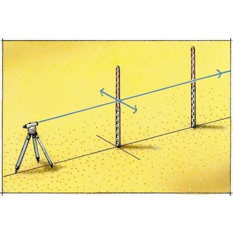 Нівелірна рейка Laserliner Teleskop-Nivellierlatte 5 m Прев'ю 3