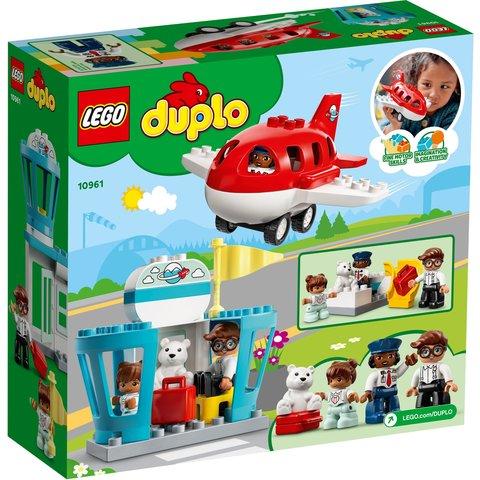 Конструктор LEGO DUPLO Самолет и аэропорт 10961 Превью 9