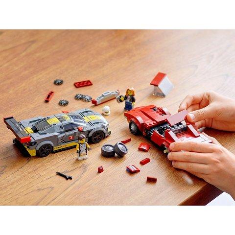 Конструктор LEGO Скоростные гонки Chevrolet Corvette 76903 Превью 8