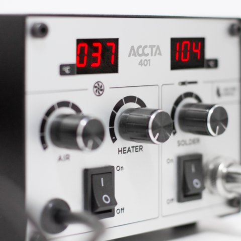 Hot Air Rework Station Accta 401 - Preview 3