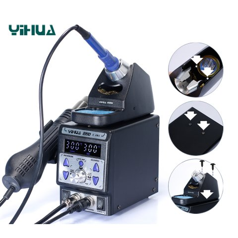 Hot Air Soldering Station YIHUA 899D-II Preview 3